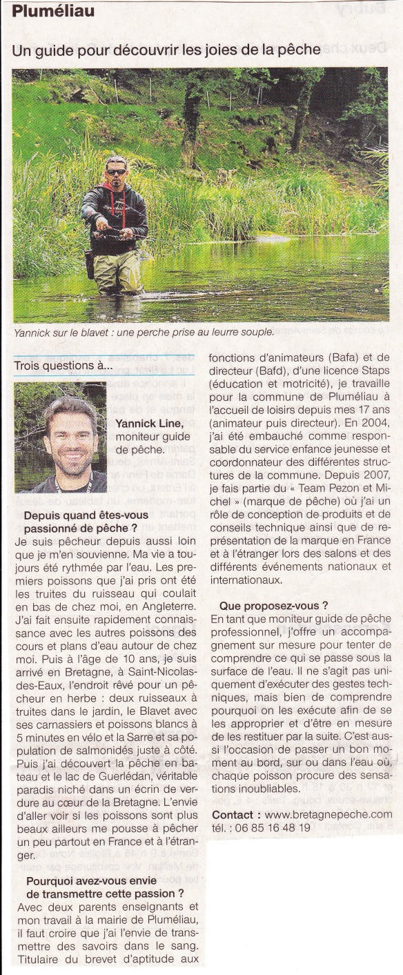 Article Ouest France 10-08