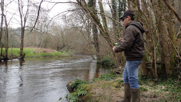 Rémi guidage pêche truite